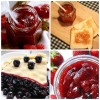 Homemade jam recipe with whole fruit